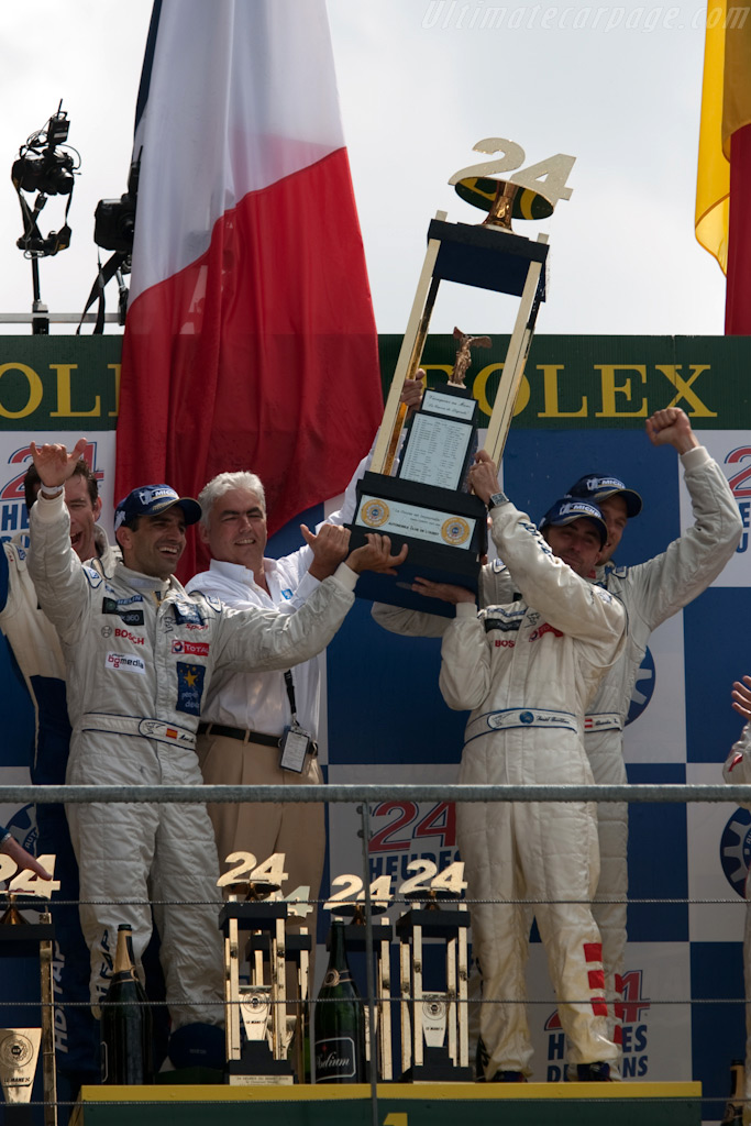 The big trophy    - 2009 24 Hours of Le Mans