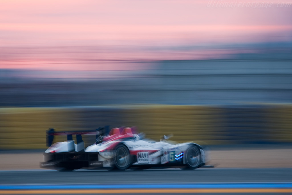 The land of the setting sun - Chassis: 9R6 708   - 2009 24 Hours of Le Mans