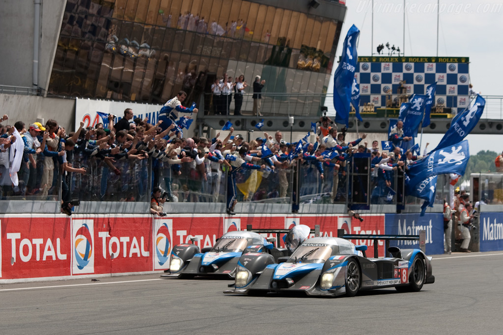 The other two Peugeots - Chassis: 908-07   - 2009 24 Hours of Le Mans