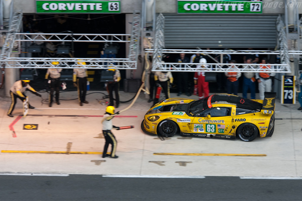 The sole surviving works Corvette - Chassis: 007   - 2009 24 Hours of Le Mans