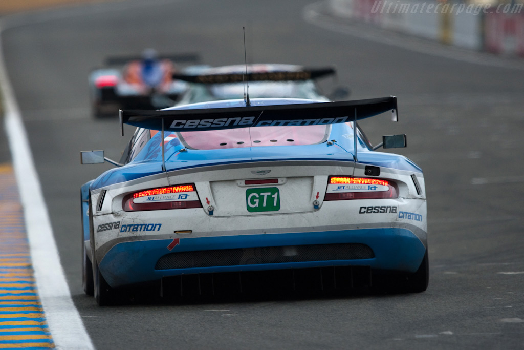 The three different Astons - Chassis: DBR9/103   - 2009 24 Hours of Le Mans