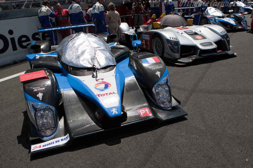 The top four - Chassis: 908-07   - 2009 24 Hours of Le Mans