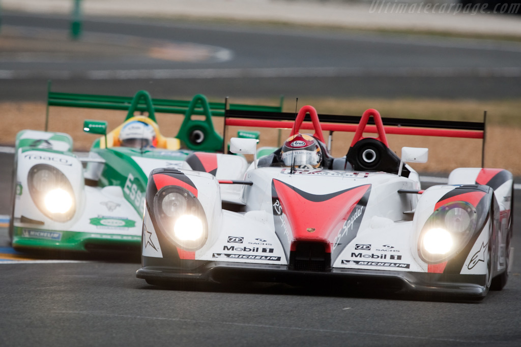 The two Porsche RS Spyders - Chassis: 9R6 708   - 2009 24 Hours of Le Mans