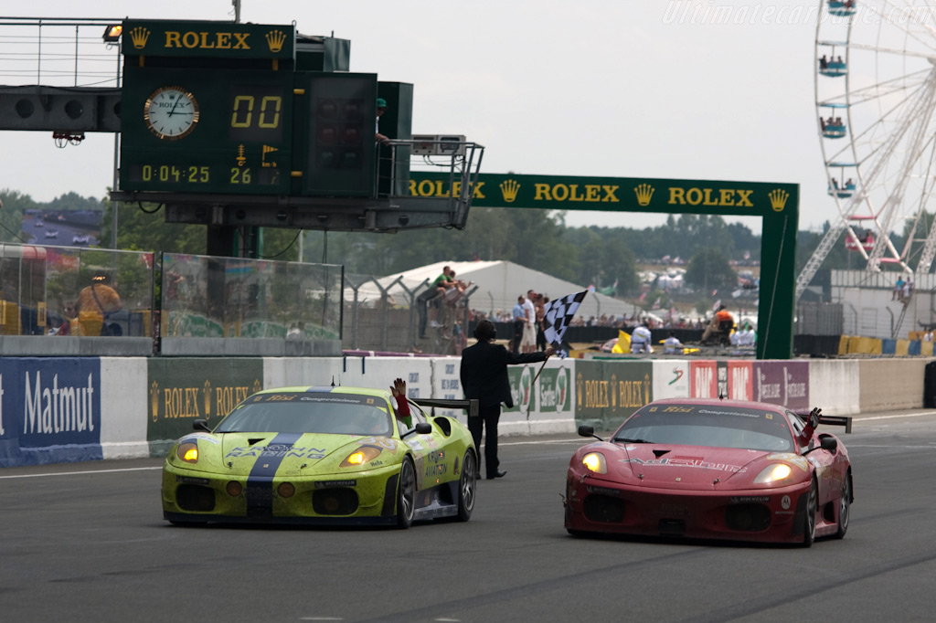 The two Risi Ferraris finished 1st and 3rd - Chassis: 2606   - 2009 24 Hours of Le Mans