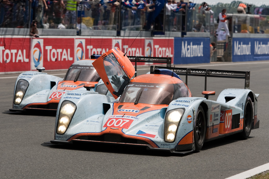 The two surviving Lola-Astons - Chassis: B0960-HU02   - 2009 24 Hours of Le Mans