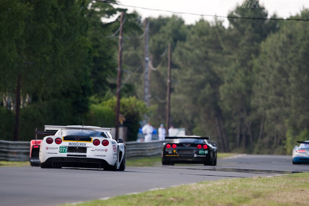 Three GT1s - Chassis: 003   - 2009 24 Hours of Le Mans