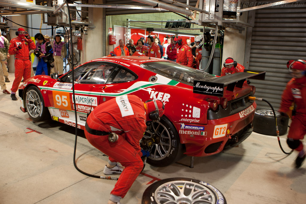 AF Corse stop - Chassis: 2464b   - 2010 24 Hours of Le Mans