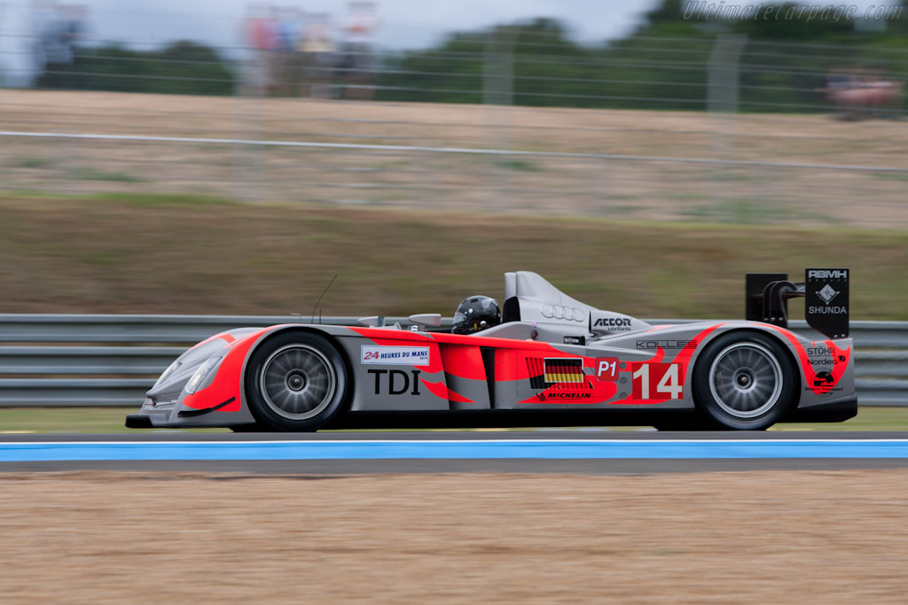 Audi R10 TDI - Chassis: 201   - 2010 24 Hours of Le Mans