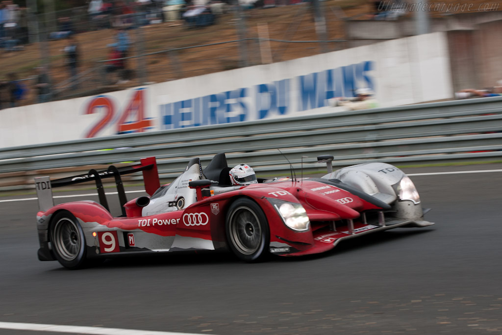 Audi R15 plus - Chassis: 204   - 2010 24 Hours of Le Mans