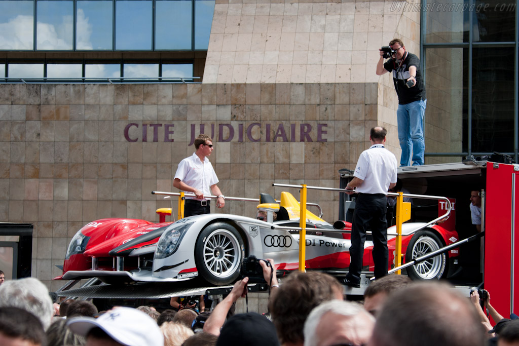 Audi R15 plus - Chassis: 202  - 2010 24 Hours of Le Mans