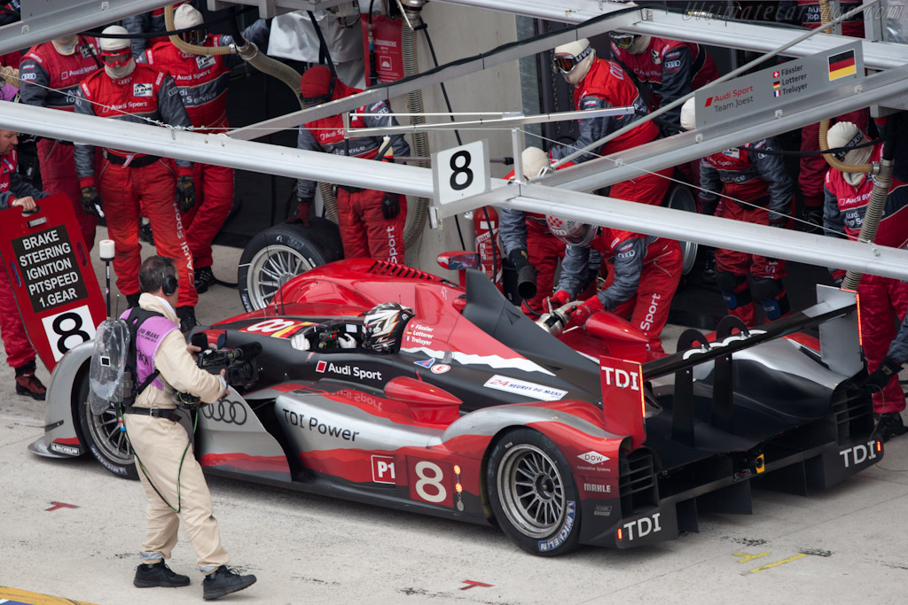 Audi Stop - Chassis: 203   - 2010 24 Hours of Le Mans