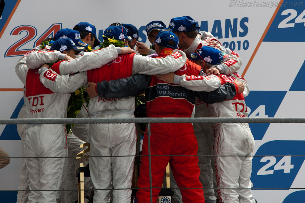Audi Team    - 2010 24 Hours of Le Mans