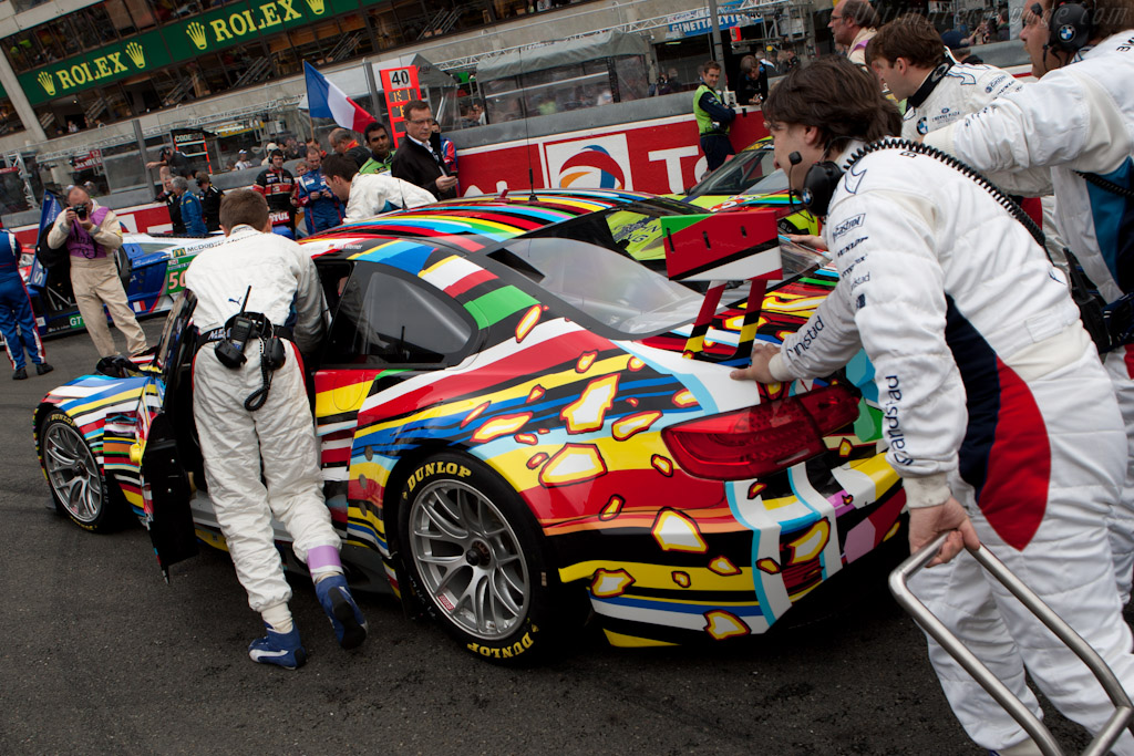 BMW Art Car - Chassis: 1002   - 2010 24 Hours of Le Mans