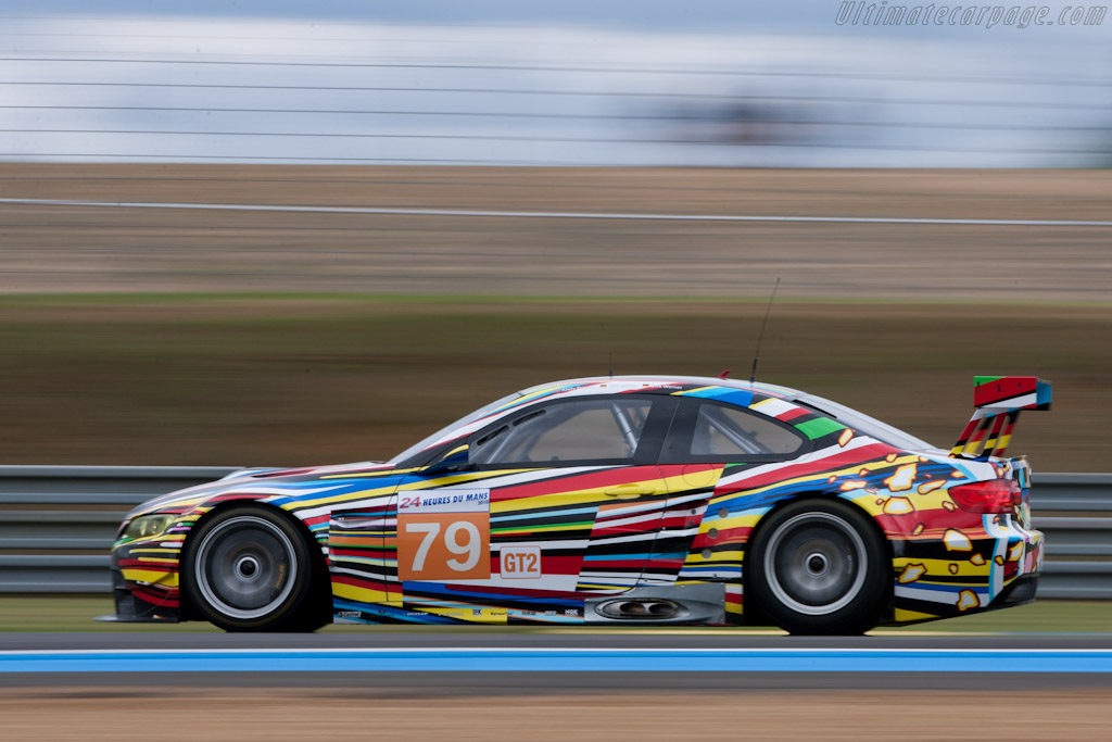BMW M3 Art Car - Chassis: 1002   - 2010 24 Hours of Le Mans