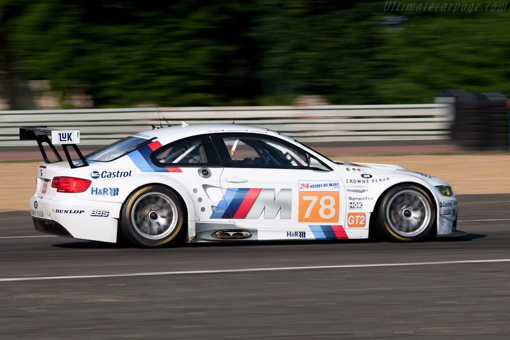 BMW M3 GTR - Chassis: 1001   - 2010 24 Hours of Le Mans