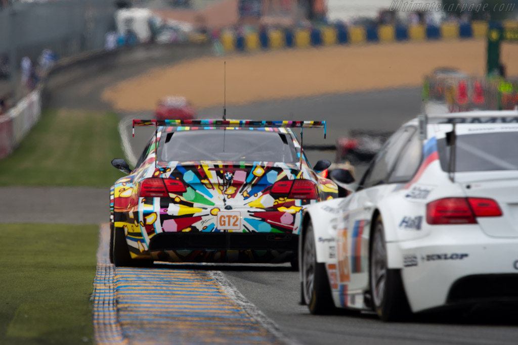 BMW M3s - Chassis: 1002  - 2010 24 Hours of Le Mans