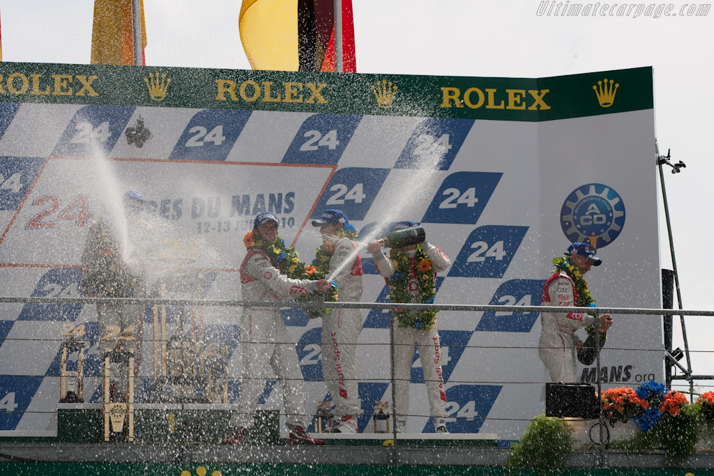 Champagne    - 2010 24 Hours of Le Mans