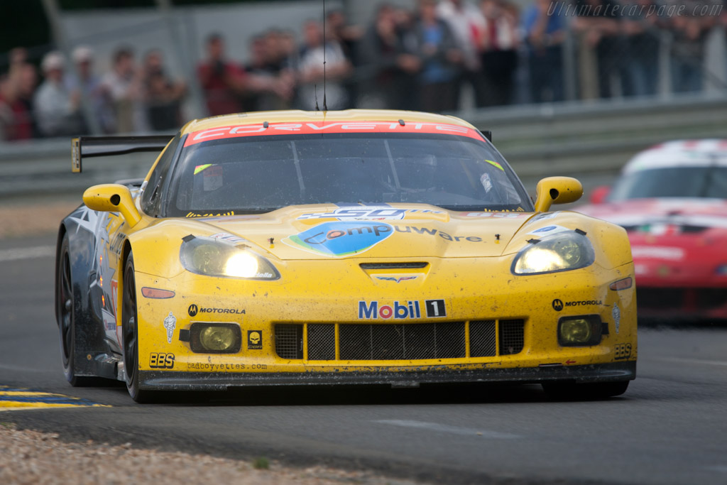 Chevrolet Corvette C6.R GT2 - Chassis: 001   - 2010 24 Hours of Le Mans