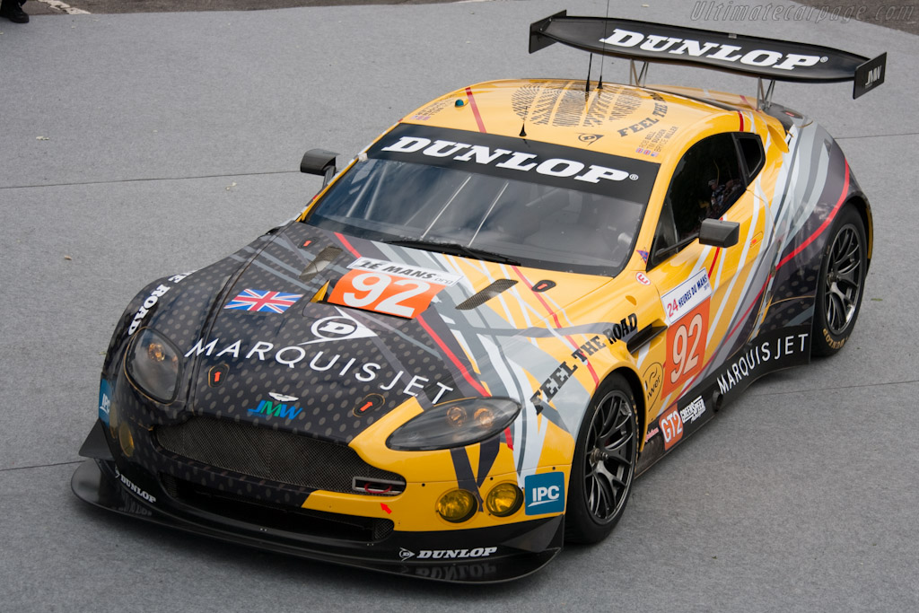 Dunlop Aston - Chassis: GT2/006  - 2010 24 Hours of Le Mans