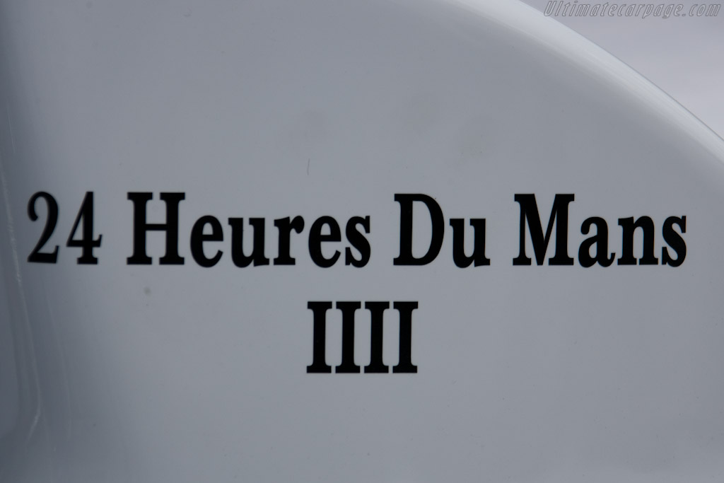 Fourth Le Mans for this chassis - Chassis: 07S-03  - 2010 24 Hours of Le Mans