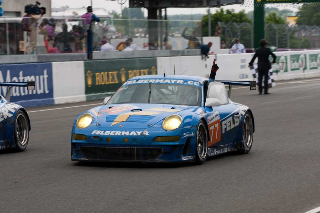 GT2 winner - Chassis: WP0ZZZ99Z9S799912   - 2010 24 Hours of Le Mans