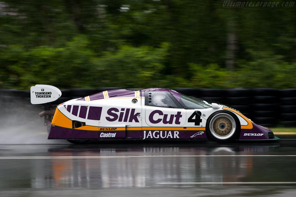 Jaguar XJR-8/9 - Chassis: J12-C-287 - Driver: Justin Law  - 2010 24 Hours of Le Mans