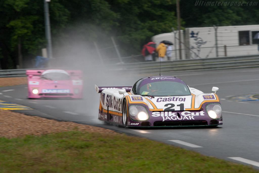 Jaguar XJR-9 - Chassis: J12-C-188  - 2010 24 Hours of Le Mans