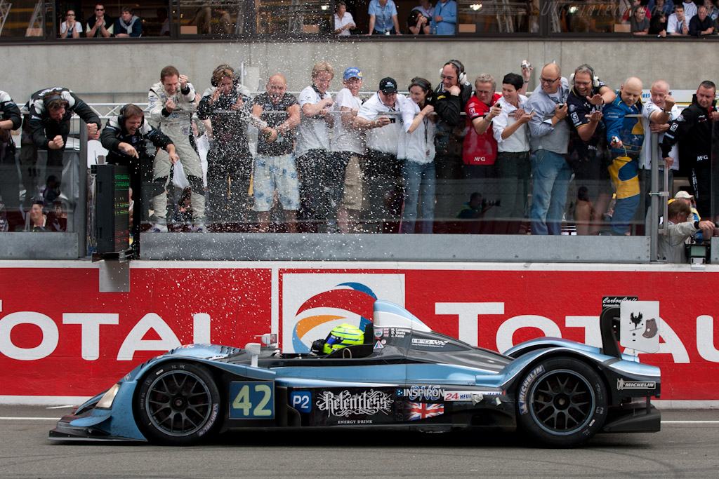 LMP2 winner - Chassis: LC70-9   - 2010 24 Hours of Le Mans