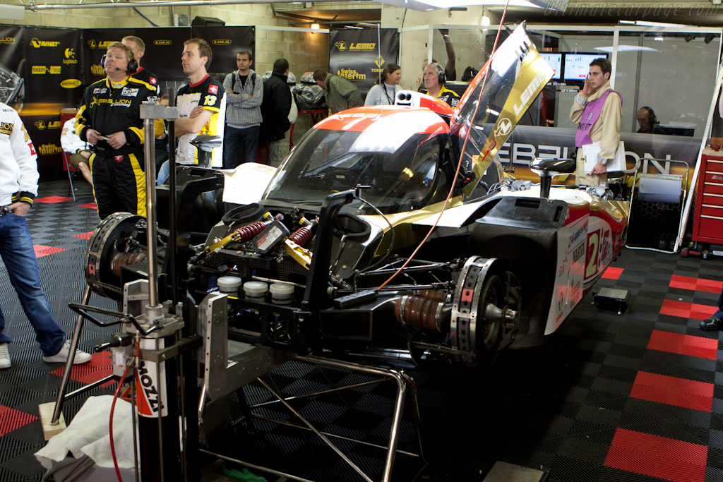 Lola B10/60 Rebellion - Chassis: B1060-HU01   - 2010 24 Hours of Le Mans
