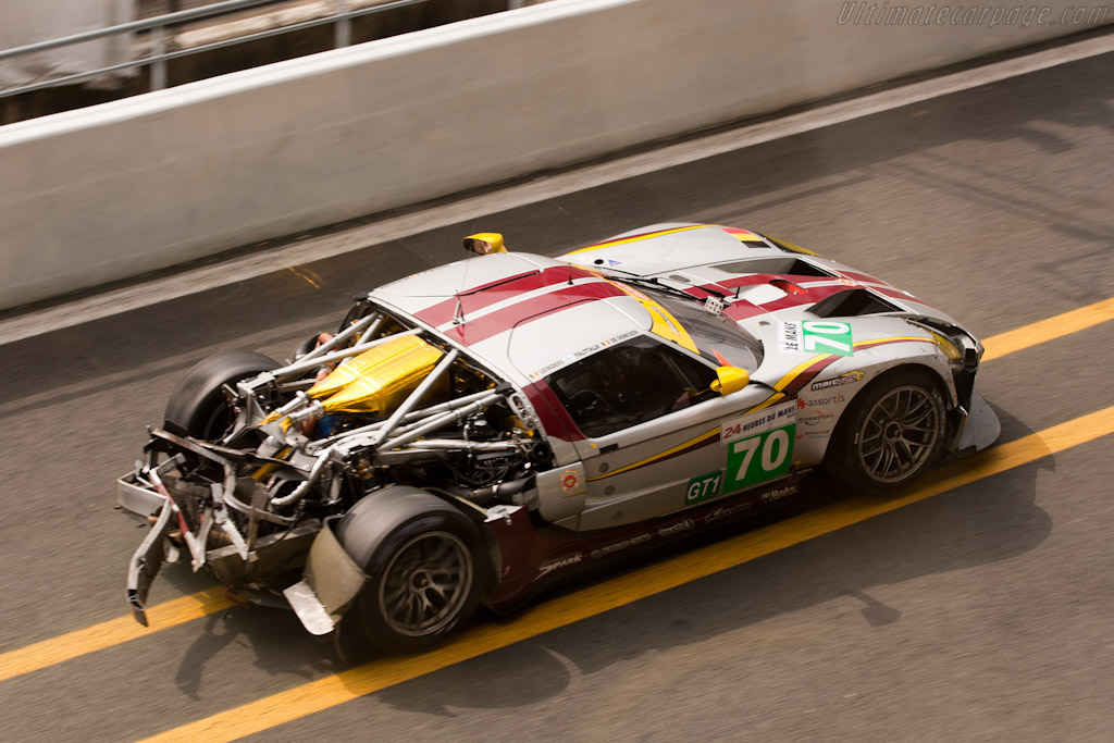 Marc VDS Matech Ford - Chassis: MR10FORDGT1SN004   - 2010 24 Hours of Le Mans