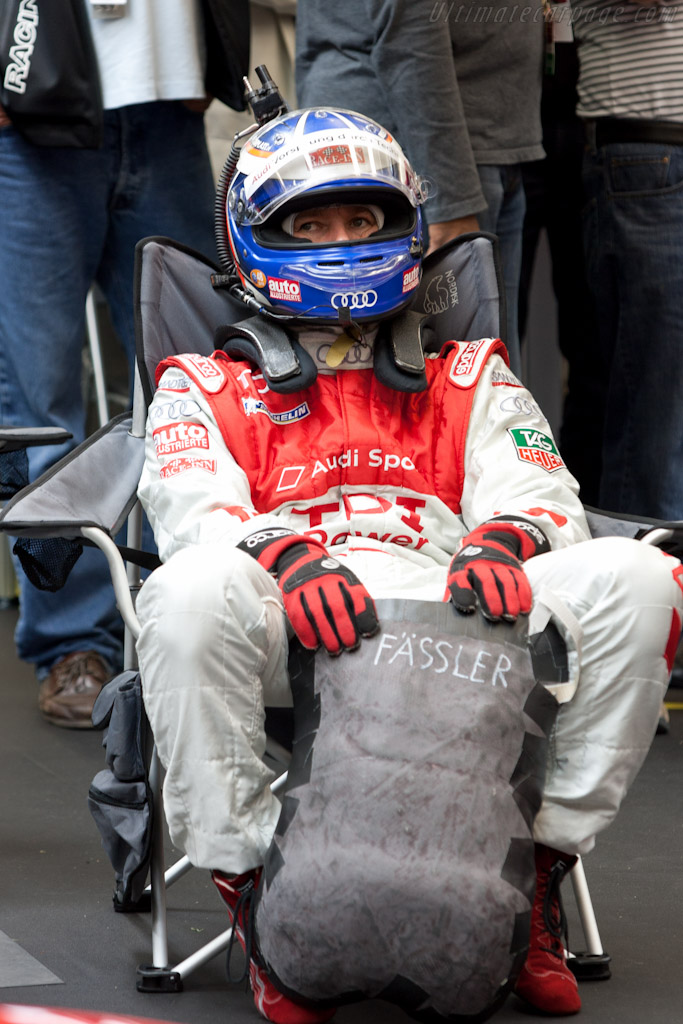 Marcel Fassler   - 2010 24 Hours of Le Mans