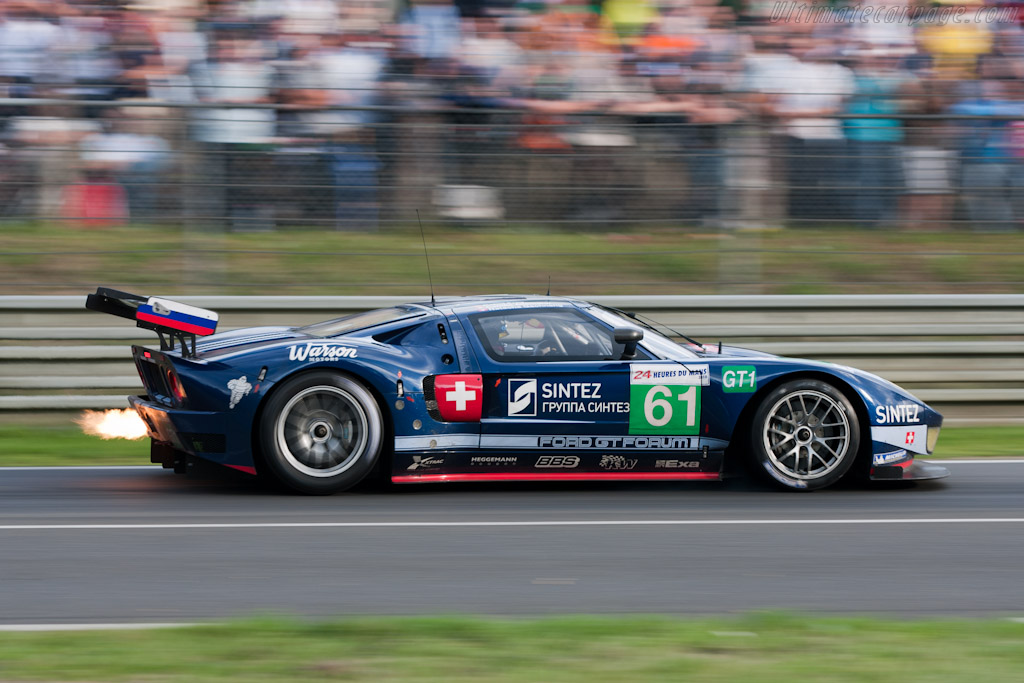 Matech Ford GT1 - Chassis: MR10FORDGT1SN005   - 2010 24 Hours of Le Mans