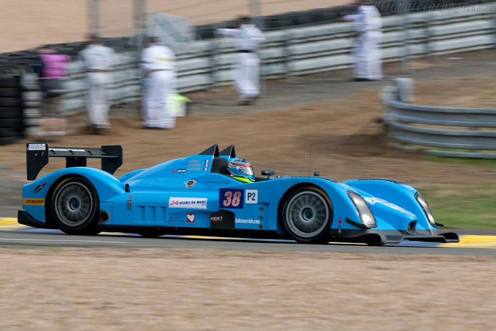 Norma M200 Judd - Chassis: 02   - 2010 24 Hours of Le Mans