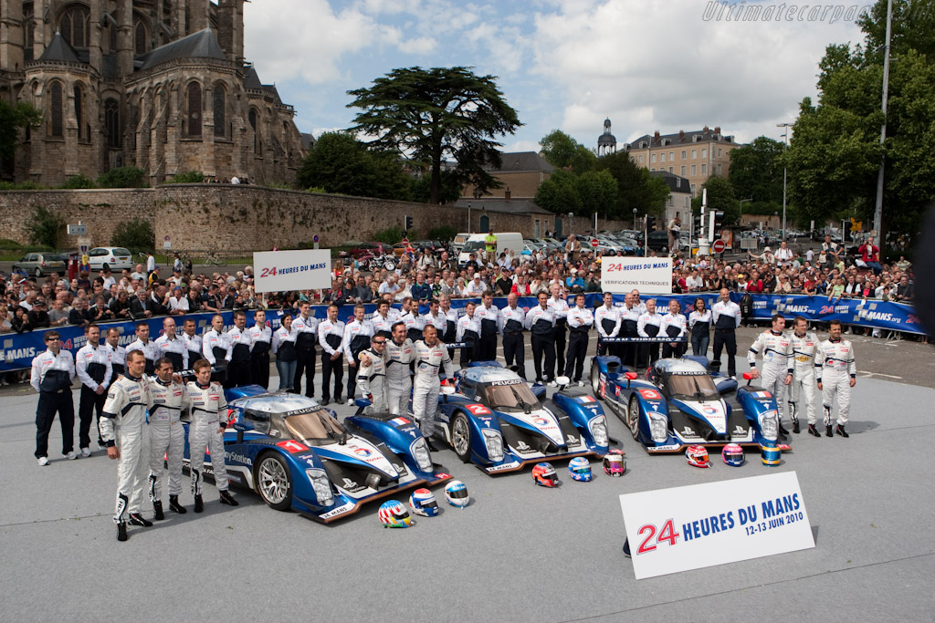 Peugeot - Chassis: 908-09   - 2010 24 Hours of Le Mans