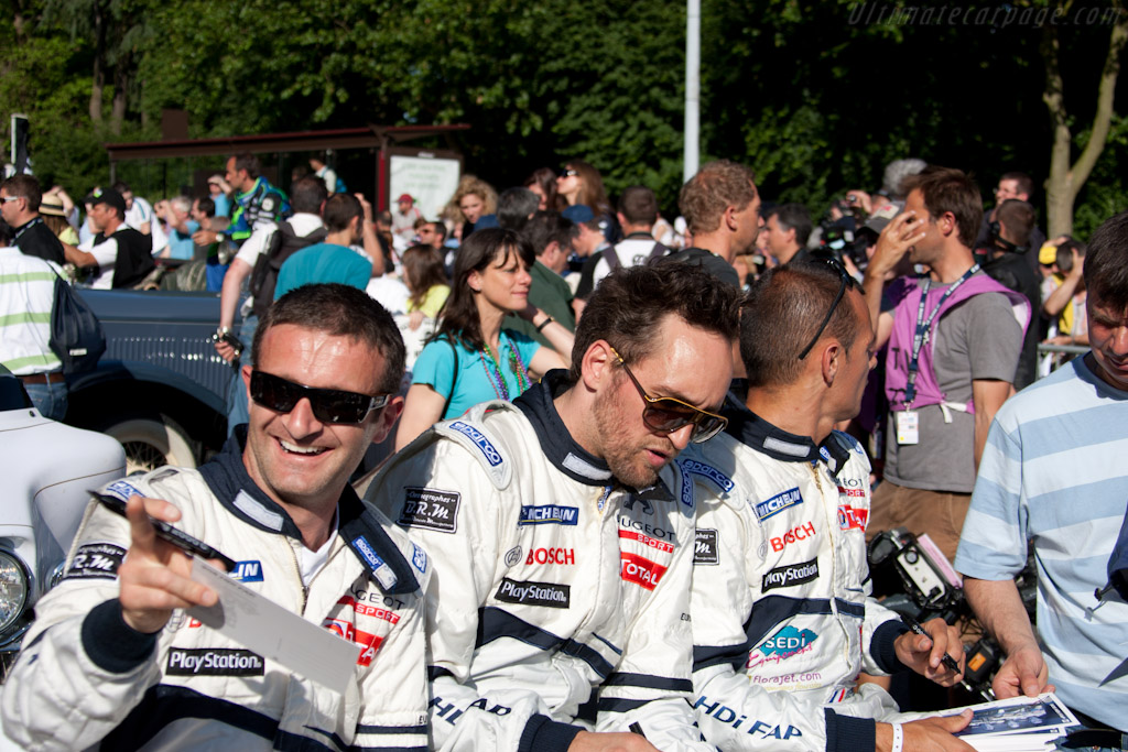 Peugeot drivers    - 2010 24 Hours of Le Mans