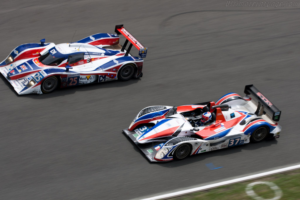 Red,white and blue - Chassis: 2008-001   - 2010 24 Hours of Le Mans