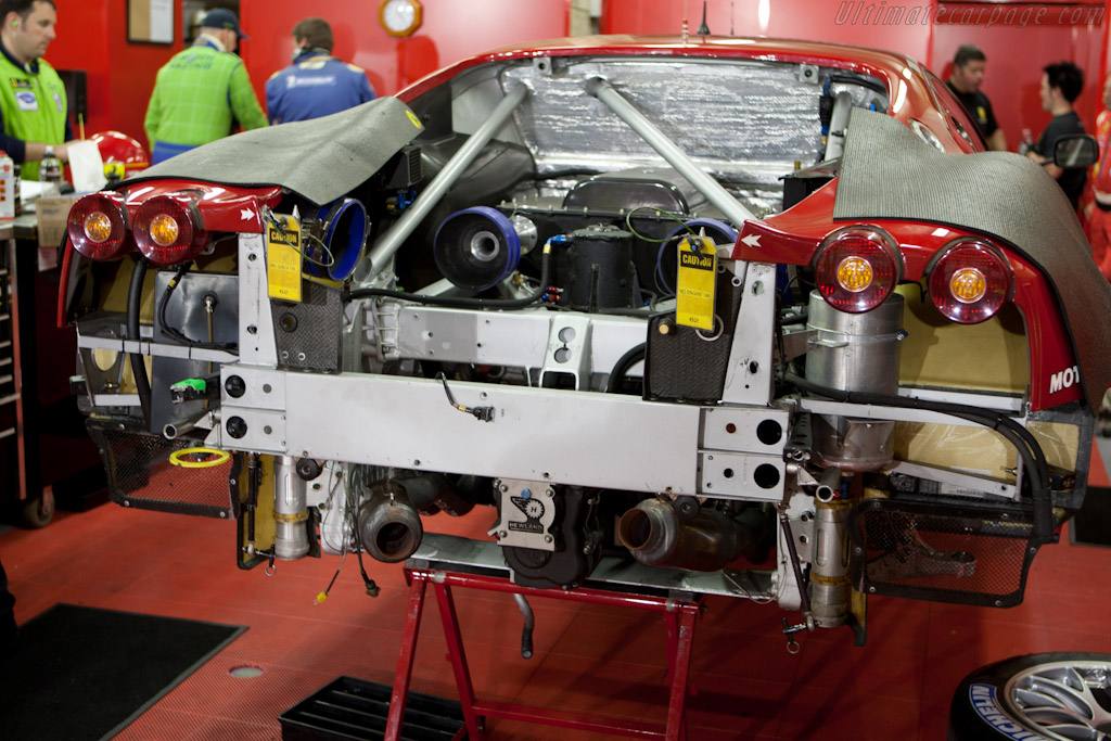 Risi Ferrari Engine issues - Chassis: 2656   - 2010 24 Hours of Le Mans