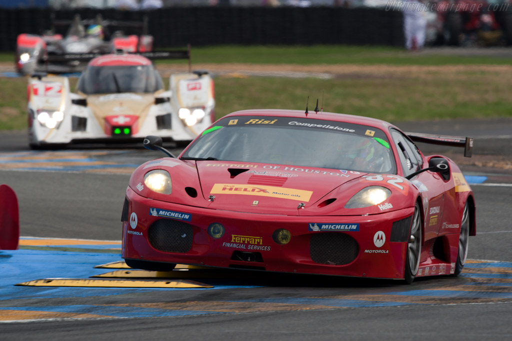 Risi Ferrari climbing up the order - Chassis: 2656  - 2010 24 Hours of Le Mans