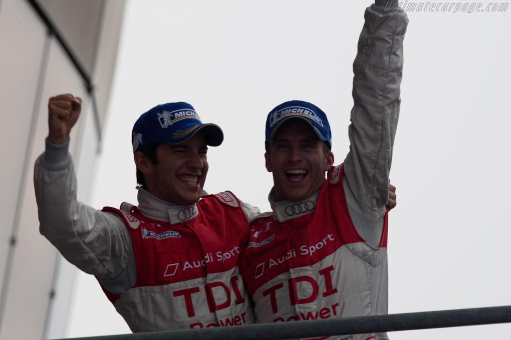 Rockenfeller and Bernhard    - 2010 24 Hours of Le Mans