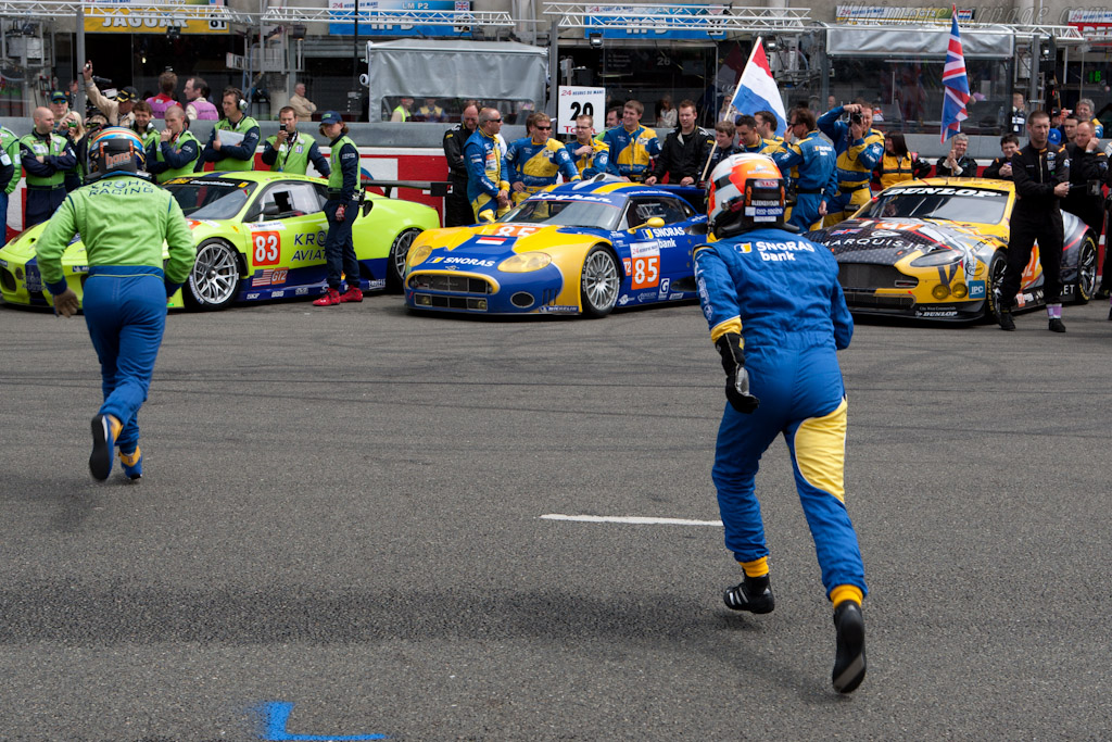Running Start - Chassis: XL9AB01G37Z363190   - 2010 24 Hours of Le Mans