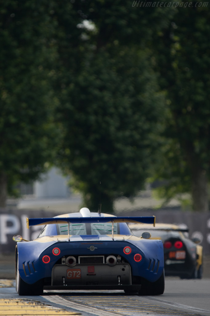 Spyker C8 Laviolette GT2-R - Chassis: XL9AB01G37Z363190   - 2010 24 Hours of Le Mans