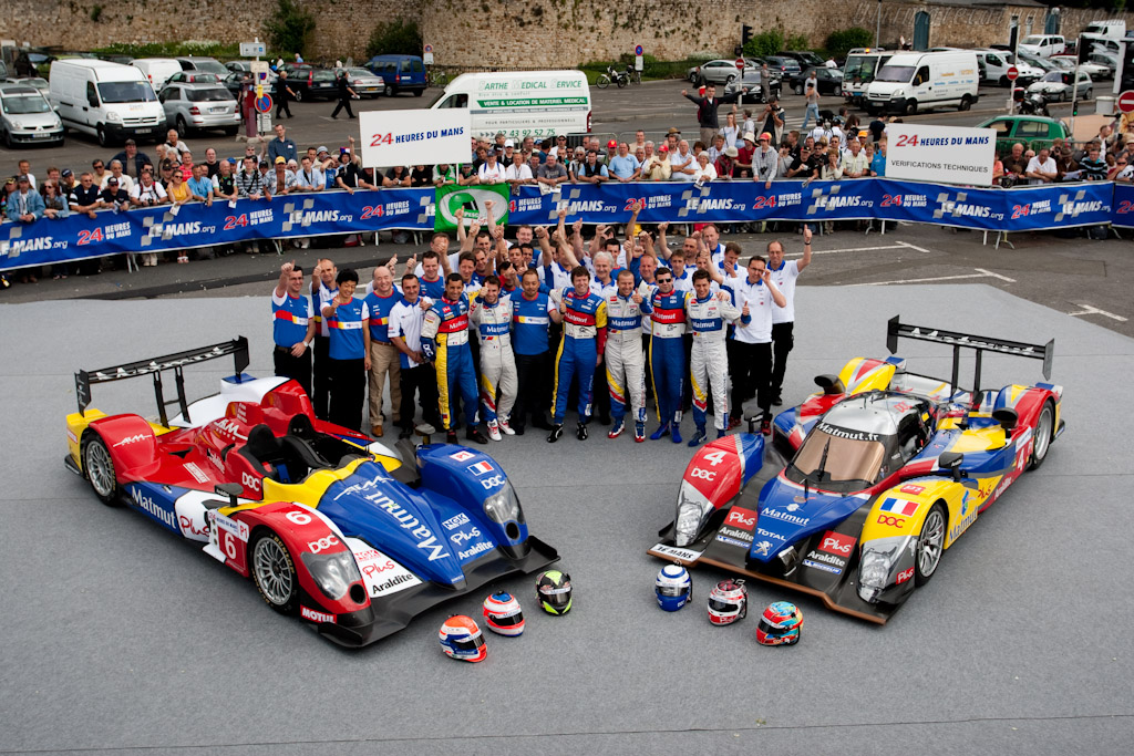 Team Oreca - Chassis: 02   - 2010 24 Hours of Le Mans