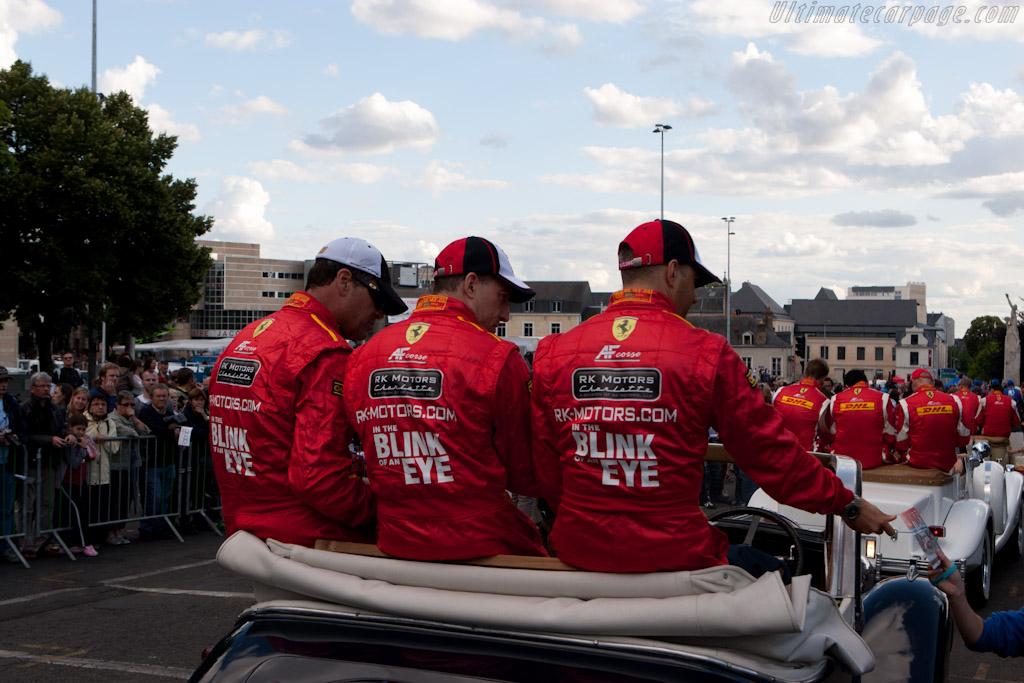 AF Corse drivers   - 2011 24 Hours of Le Mans