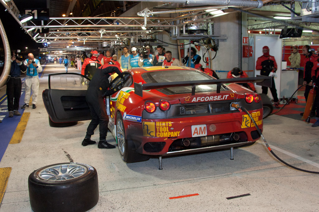 AF Corse stop - Chassis: 2822   - 2011 24 Hours of Le Mans