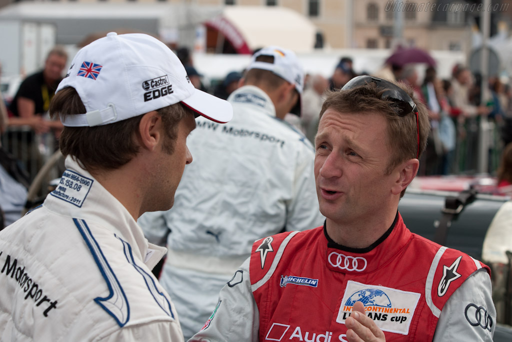 Andy Priaulx and Allan McNish    - 2011 24 Hours of Le Mans
