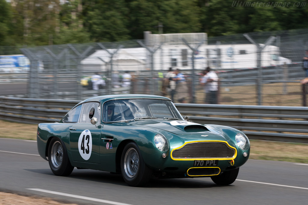 Aston Martin DB4 GT - Chassis: DB4GT/0110/R   - 2011 24 Hours of Le Mans