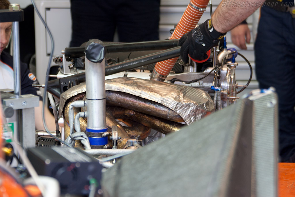 Aston Martin engine - Chassis: 1   - 2011 24 Hours of Le Mans