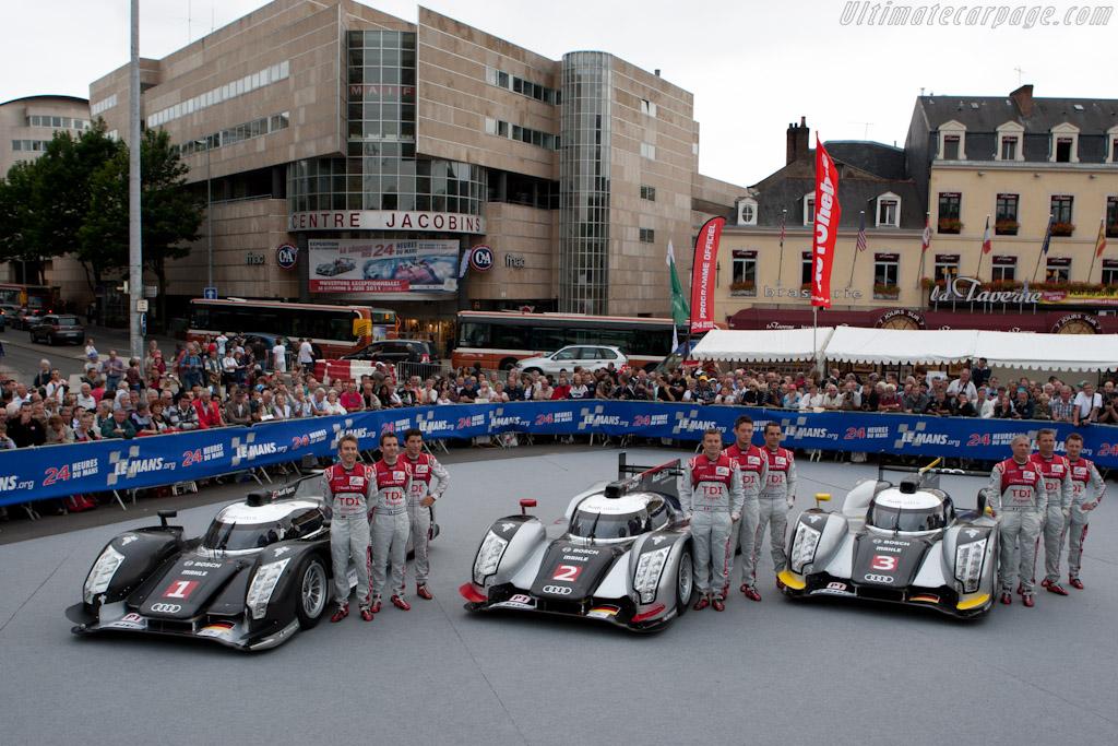 Audi - Chassis: 106   - 2011 24 Hours of Le Mans