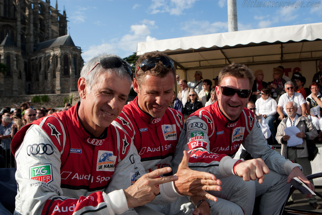 Audi drivers    - 2011 24 Hours of Le Mans