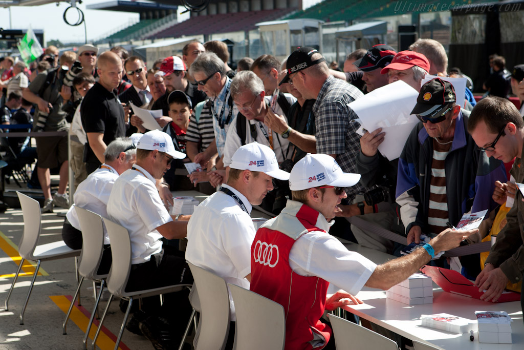 Audi drivers   - 2011 24 Hours of Le Mans